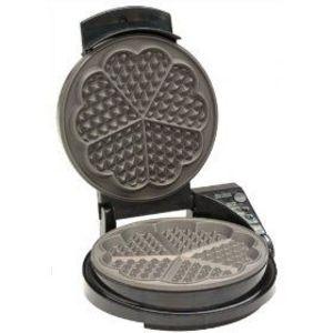 chefu0027s choice waffle pro heart shaped waffle iron - Waring Pro Waffle Maker