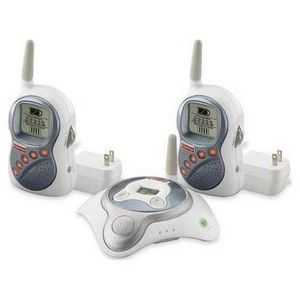 Fisher-Price Private Connection Monitor with Dual Receivers, Grey