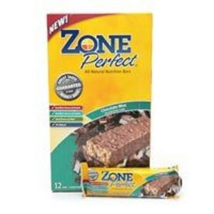 Zone Perfect Chocolate Mint All-Natural Nutrition Bars