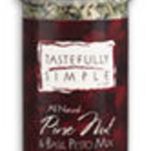 Tastefully Simple Pine Nut & Basil Pesto Mix
