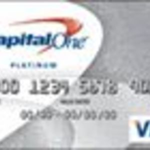 Capital One - Platinum Visa Card