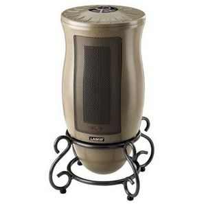 Lasko Designer Series Portable Oscillating Ceramic Heater 6410