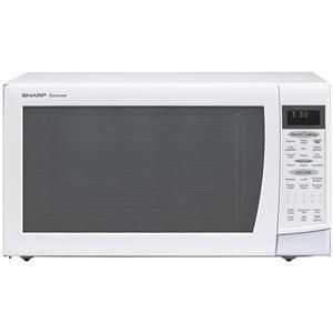 Sharp 1200 Watt 2 0 Cubic Feet Carousel Microwave Oven R 530ek 530es