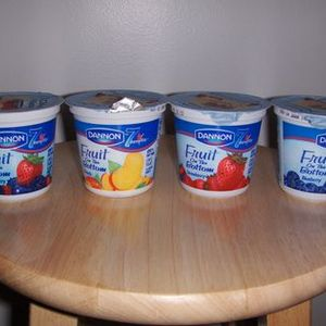 Dannon Fruit on the Bottom Yogurt - Various Flavors