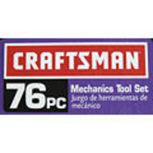 Craftsman 76-Piece Mechanics Tool Set
