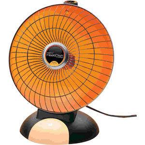 Presto Portable HeatDish Parabolic Heater Plus Footlight 0