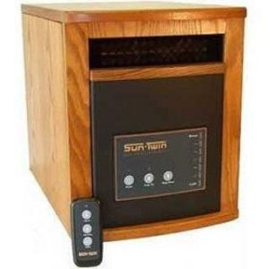 EdenPURE SunTwin ELITE Quartz Infrared Heater