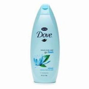 Dove Go Fresh, Body Wash, Refresh Waterlily & Freshmint