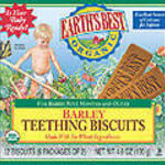 Earth's Best Barley Teething Biscuits