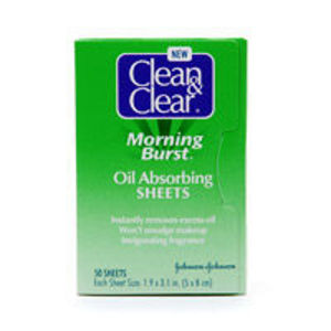 Clean & Clear Morning Burst Oil Absorbing Sheets
