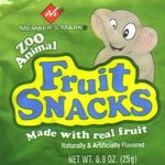 Member's Mark - Zoo Animal Fruit Snacks