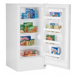 Small upright freezer frost free