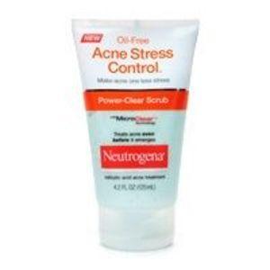 Neutrogena Oil-Free Acne Stress Control, Power-Clear Scrub