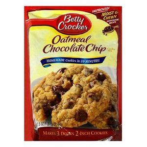 Betty Crocker Oatmeal Chocolate Chip Cookies