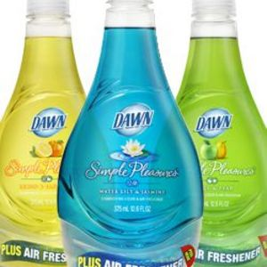 Dawn Simple Pleasures Apple & Pear Dishwashing Liquid & Air Freshener
