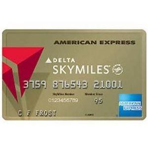 American Express - Gold Delta SkyMiles
