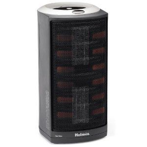 Holmes Portable Ultra-Quiet Dual Ceramic Heater with 1Touch HCH4953-U