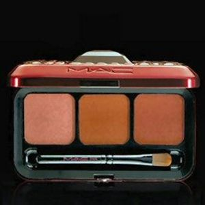 MAC Lipcolor Compact - Passionately Red/Viva Glam 3: Warm Lips