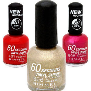 Rimmel London 60 Seconds Nail Polish - All Shades