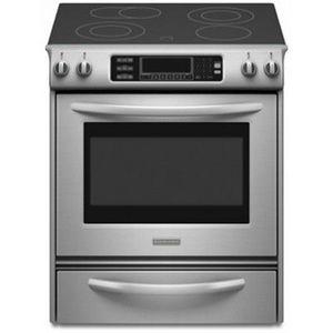 Kitchenaid slide in electric range kess907sss reviews - Kitchenaid slide in range reviews ...