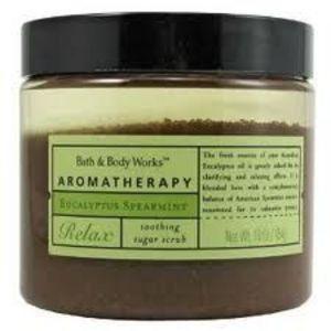 Bath & Body Works Aromatherapy Eucalyptus Spearmint Sugar Scrub