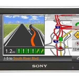 Sony NAV-U NV-U83T Bluetooth Portable GPS Navigator