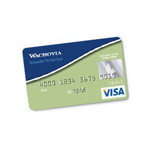 Wachovia - Visa Card