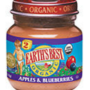 Earth's Best 2nd Fruits Apples & Blueberries