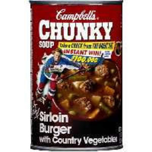 Campbell's CHUNKY Sirloin Burger with Country Vegetables