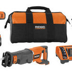 Ridgid 24 Volt Cordless Drill & Saw Kit with Bag