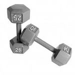 Cap Hexagon Dumbbells