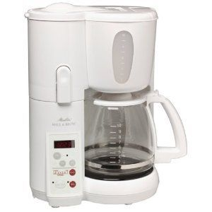 Melitta 10-Cup Mill and Brew Coffeemaker