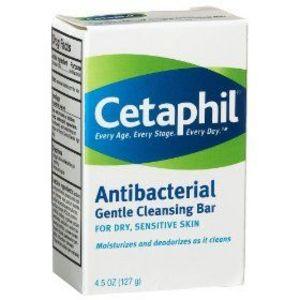 Cetaphil antibacterial gentle cleansing bar galderma514836 for Best soap to wash tattoo