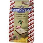 Ghirardelli Squares - Limited Edition Milk Chocolate Peppermint Bark
