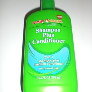 Family Dollar Shampoo Plus Conditioner