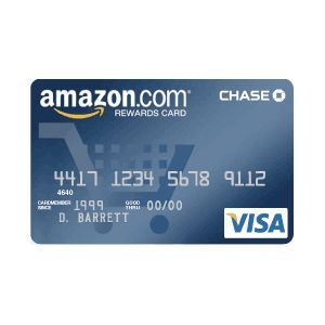 Chase - Amazon.com Rewards Visa Card