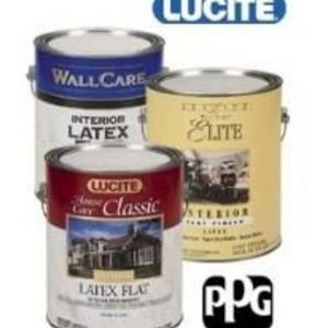 Lucite Elite Exterior Semi Gloss Paint