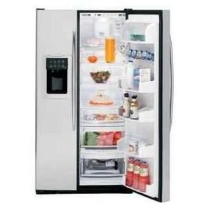 ge profile arctica side by side refrigerator pss26sgrbww. Black Bedroom Furniture Sets. Home Design Ideas