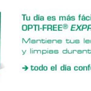 Opti-Free Express NO RUB Contact Solution