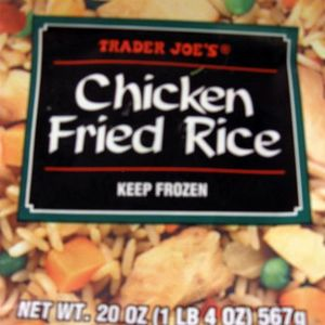 Trader Joe's Chicken Fried Rice