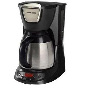 Black And Decker Coffee Maker Cm1300sc : Black & Decker 8-Cup Thermal Carafe Coffee Maker DE790 Reviews Viewpoints.com