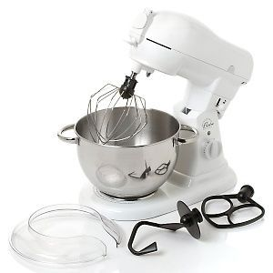 Wolfgang Puck 10-Speed Bistro Collection 600 Watt Stand Mixer