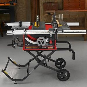 Craftsman professional 10 inch portable table saw reviews Portable table saw reviews
