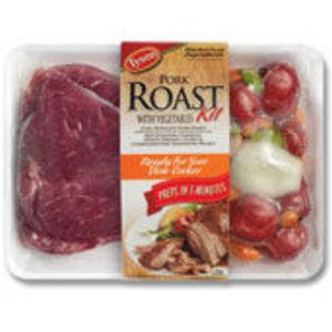 Tyson Pork Roast with vegetables Kit