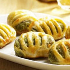 Pillsbury - Savorings flaky pastry bites -Cheese Spinach