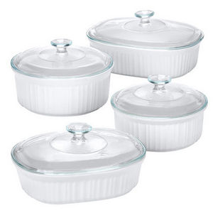 Corningware Casserole Dishes (Various sizes)