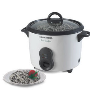 Black & Decker Rice Cooker, Model RC410