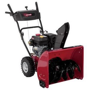 "Craftsman 24"" Dual-Stage Snow Blower"