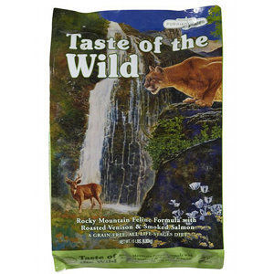 Taste of the Wild Rocky Mountain Feline Formula - Roasted Venison & Smoked Salmon