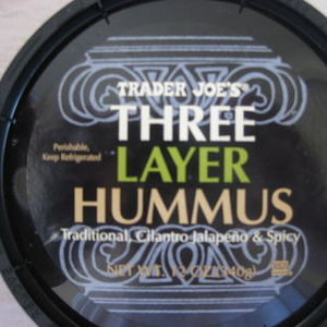Trader Joe's - Three Layer Hummus